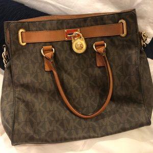 Large Brown Michael Kors bag